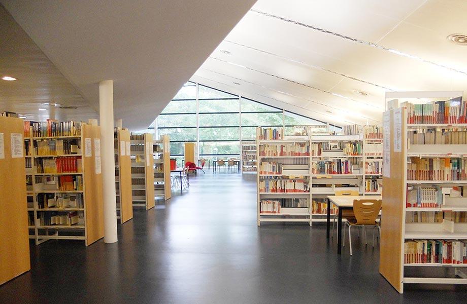 Ouvrages rez-de-chausée - Bibliothèque ESIEE Paris