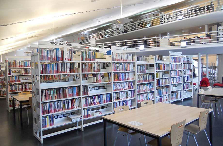 Rez de chaussée Bibliothèque ESIEE Paris