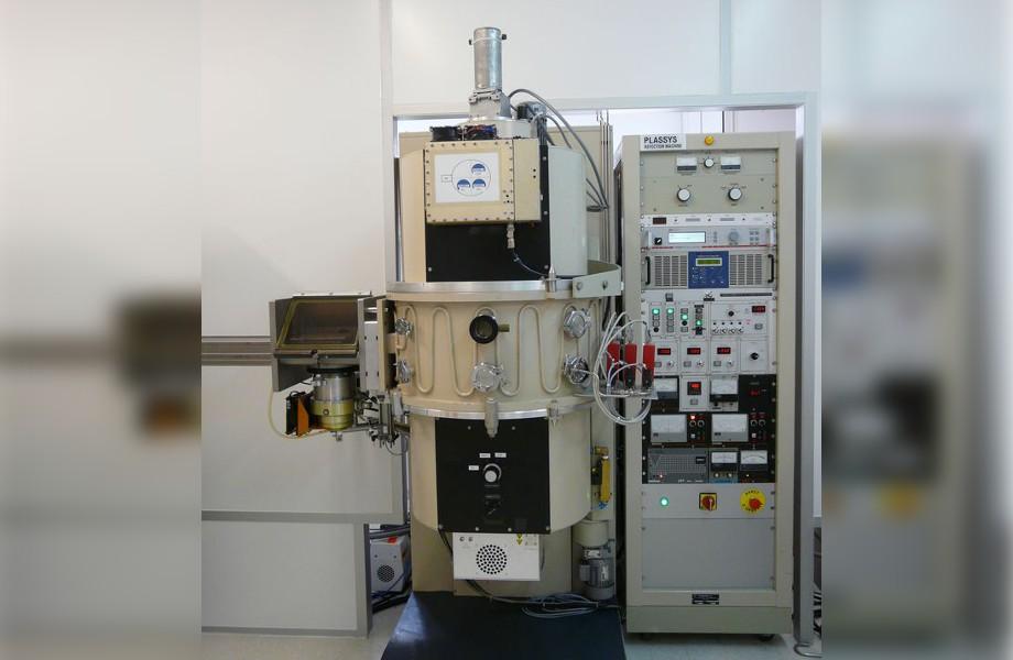 Équipement de pulvérisation cathodique type SCM 600 (ALCATEL)