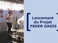 Projet Feder Oasis - Lancement