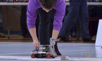 Illustration Systèmes embarqués - Robot Freescale