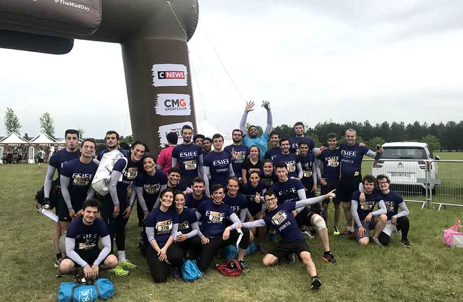 Sport - ESIEE - Mud Day 2018