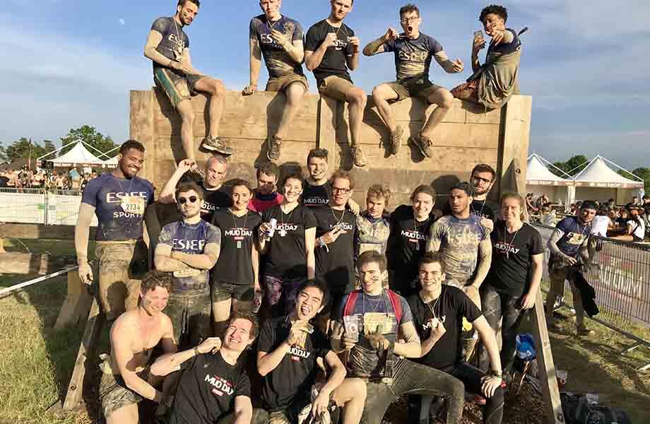 Sport - ESIEE - Mud Day 2018 après