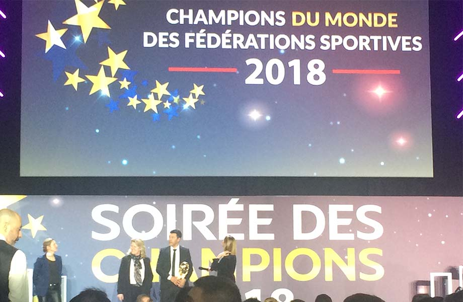 Sport - ESIEE - Soirée des champions INSEP 2018