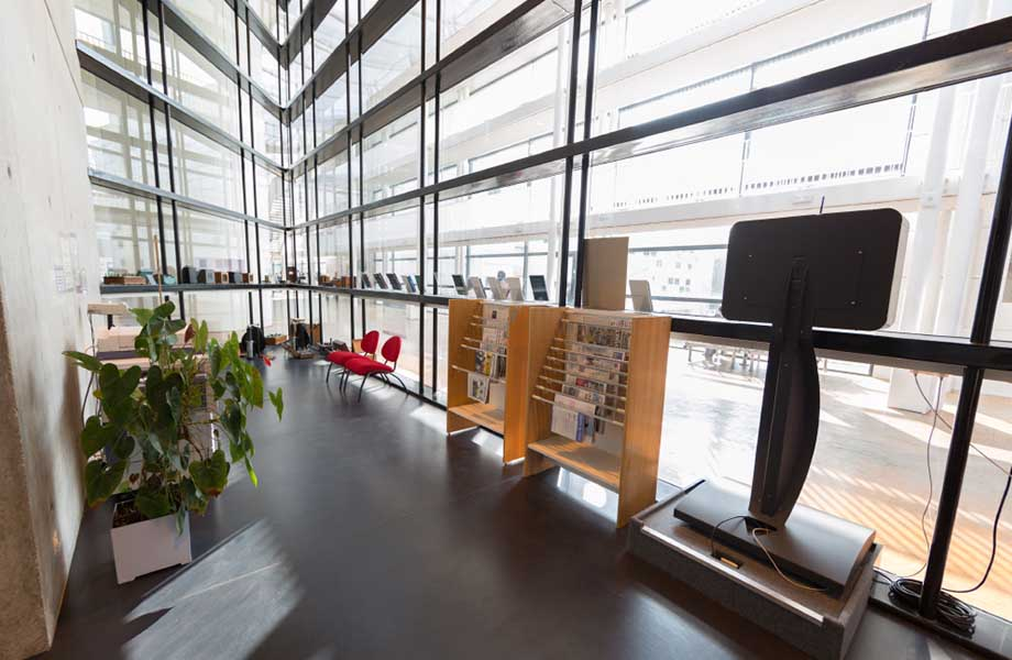 Location d'espaces - Bibliothèque