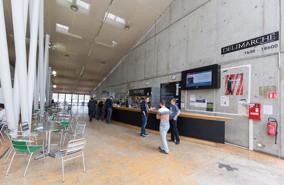 Location d'espaces - Caféteria