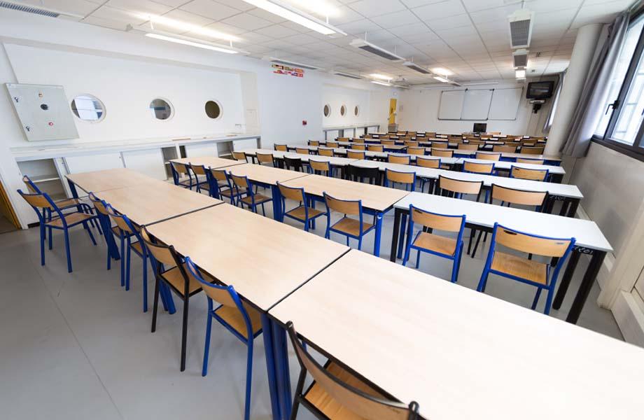 Location d'espaces - Salle de cours