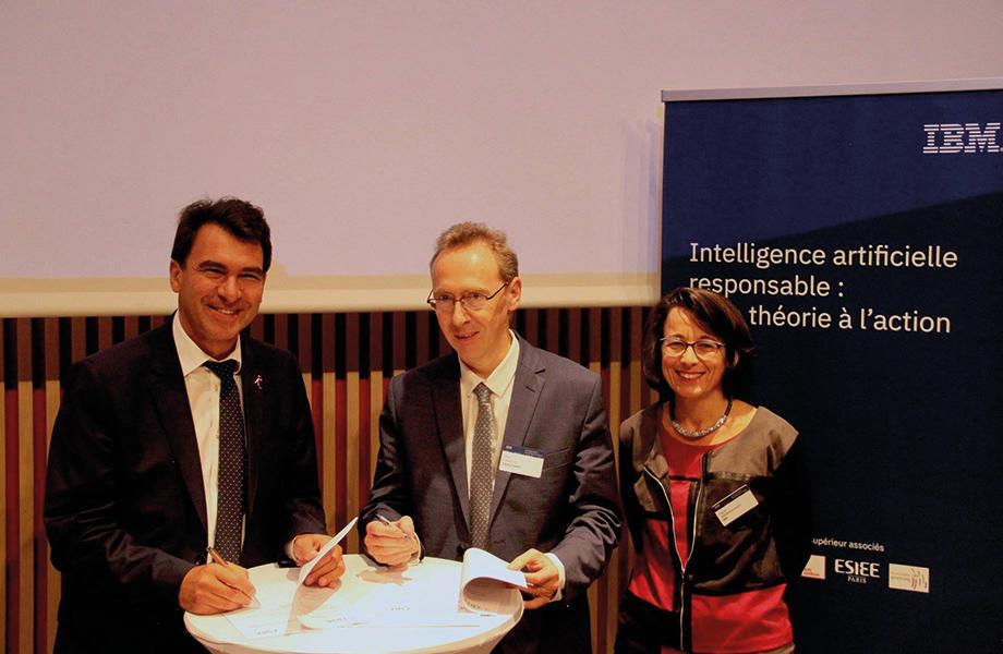 ESIEE Paris and IBM France create a new teaching chair | ESIEE Paris