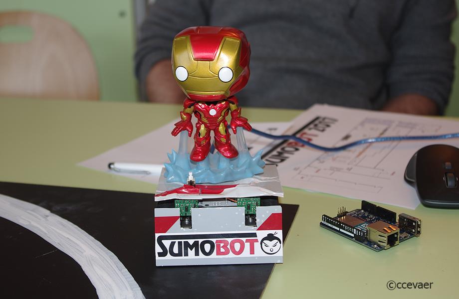 Robot Rouge - SUMOBOT